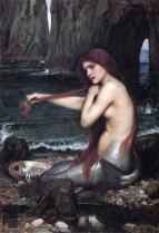 'A Mermaid' by John William Waterhouse (1901)