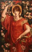 'A Vision of Fiammetta' by Dante Gabriel Rossetti (1878)