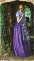 'April Love' by Arthur Hughes (c.1855)