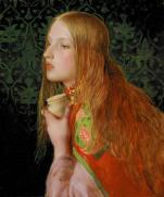 'Mary Magdalene' by Frederick Sandys (c.1858-60)