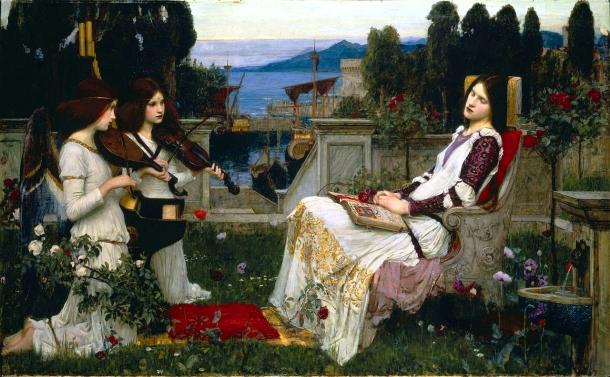 'Saint Cecilia' by John William Waterhouse (1895)