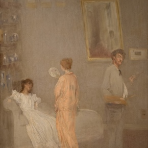 ★ 'The Artist in His Studio' by Whistler