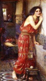 'Thisbe' by John William Waterhouse (1909)
