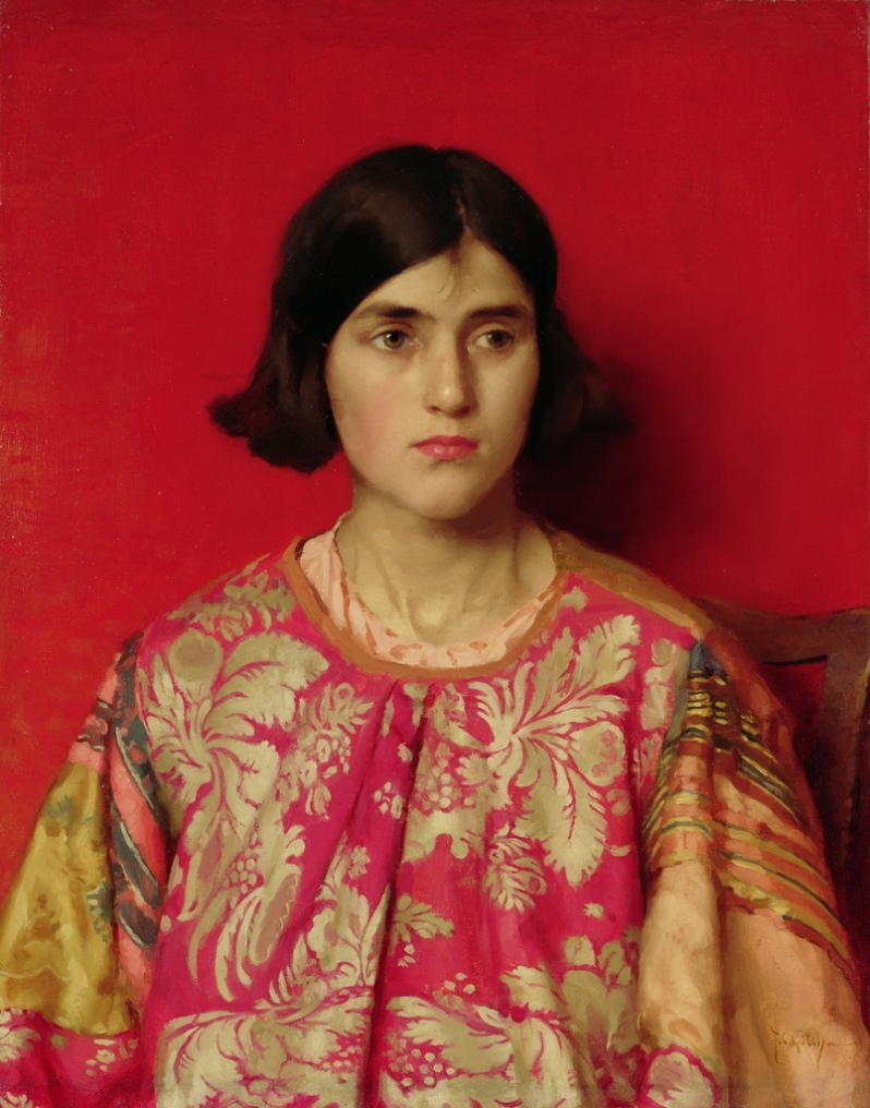 'The Exile' by Thomas Cooper Gotch (1930)