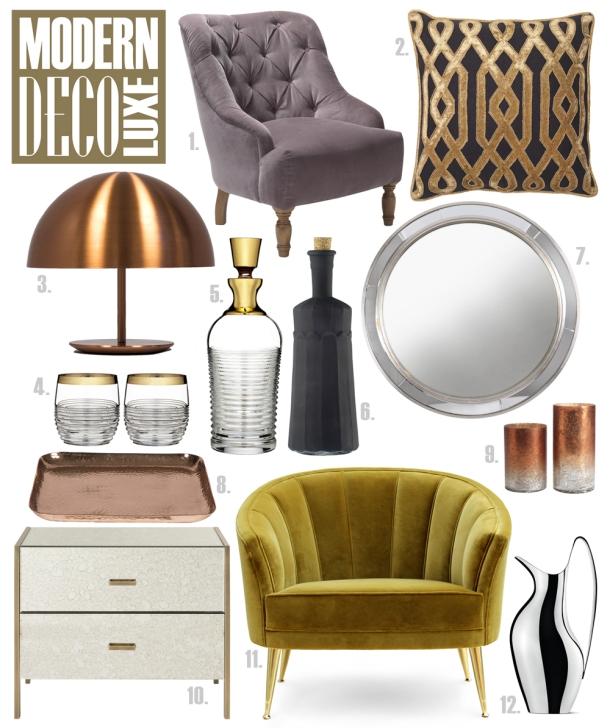 Modern Deco Luxe by Velvet Limelight