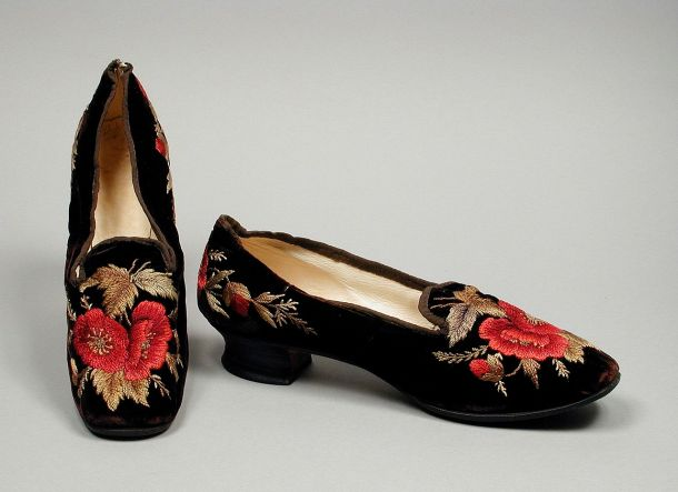 Pair of Woman's Slippers (LACMA)