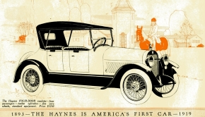 ★ Vintage Advert for the Haynes Roadster