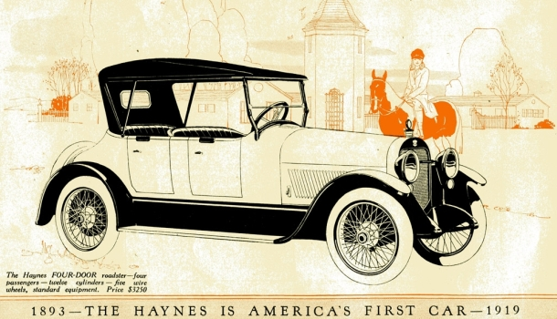 Haynes - America's First Car (1919)