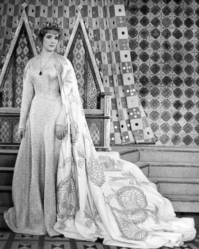 Julie Andrews as Guenevere in 'Camelot'