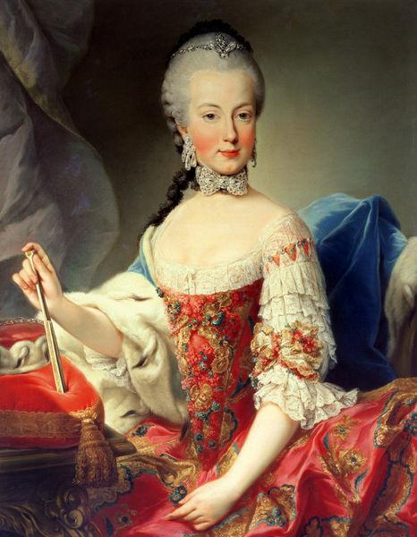 Maria Amalia of Austria by Martin van Meytens