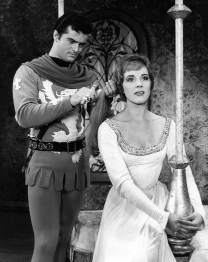 Robert Goulet and Julie Andrews in 'Camelot'