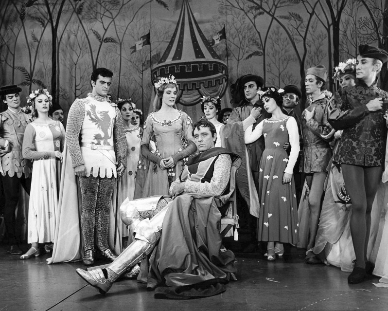 Scene from the musical Camelot