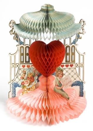 Valentines Card, 1928