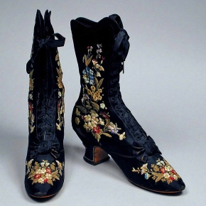 ★ 1885 Women's Embroidered Boots