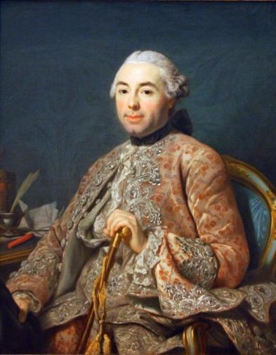 'Baron de Neubourg-Cromiere' by Alexander Roslin (1756)