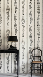 'Chairs' Wallpaper by Barneby Gates