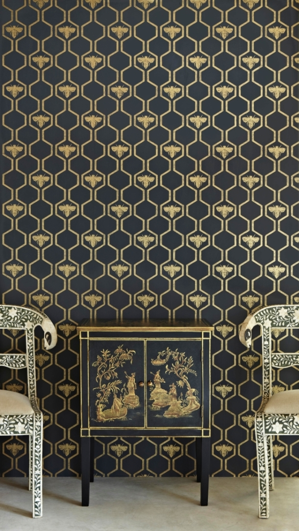 'Honey Bees' Wallpaper by Barneby Gates