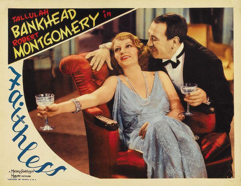 Poster 01 - Faithless (1932)