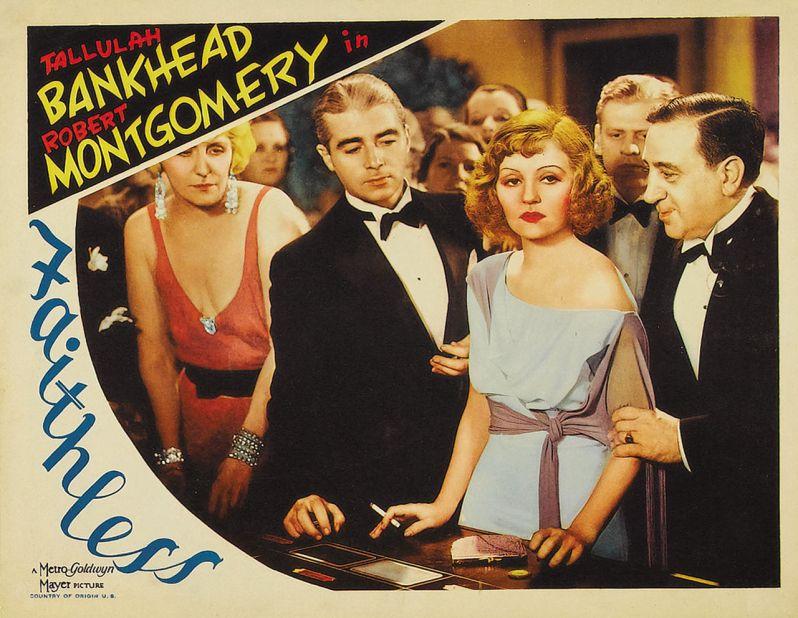 Poster 02 - Faithless (1932)