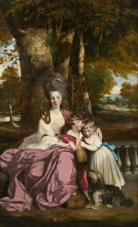 'Lady Elizabeth Delmé and Her Children' by Joshua Reynolds