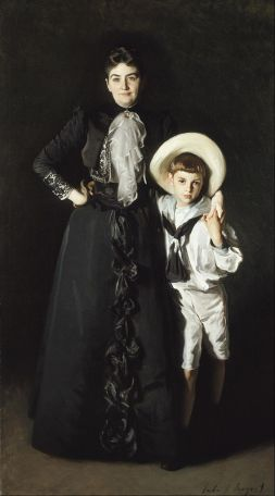 'Mrs Edward L. Davis and Her Son, Livingston Davis' by John Singer Sargent