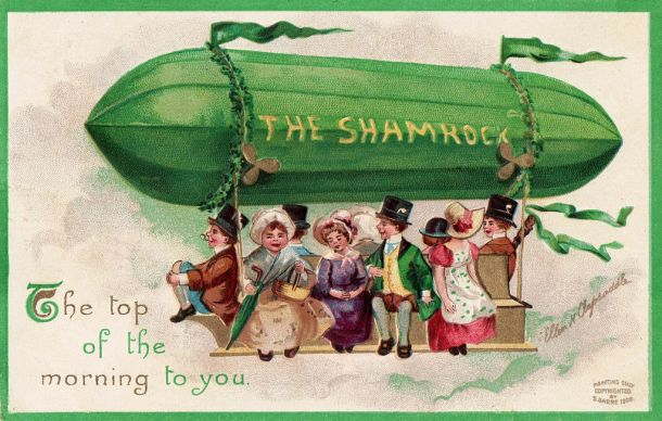 St Patrick's Day postcard by Ellen Clapsaddle, 1908