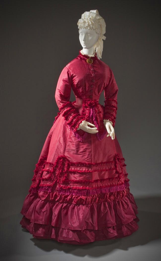 1870s Woman's Promenade Dress (LACMA)