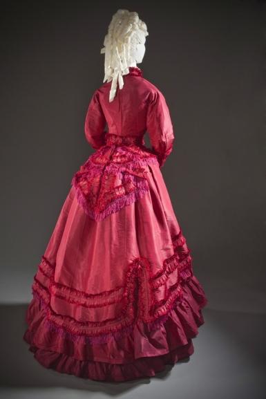 Woman's Promenade Dress 1870s (LACMA)