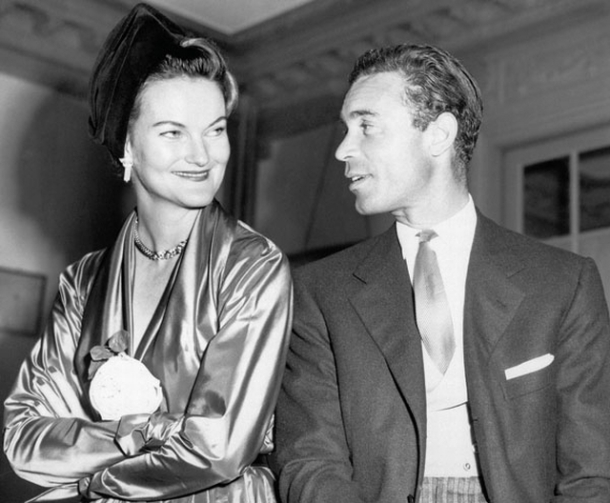 Doris Duke and Porfirio Rubirosa