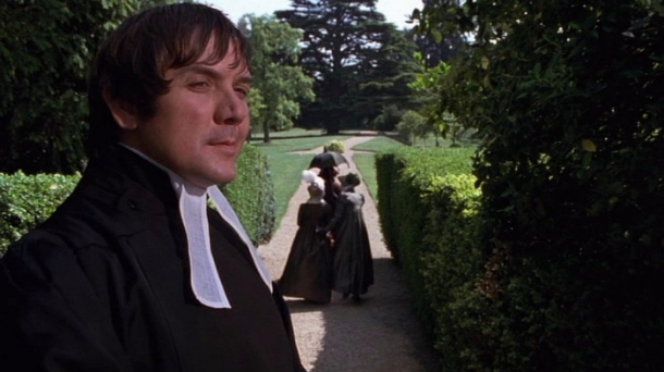 David Bamber as Mr Collins in Pride and Prejudice (1995)