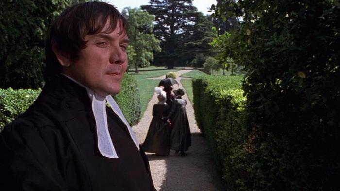 David Bamber as Mr Collins in Pride and Prejudice (1995)