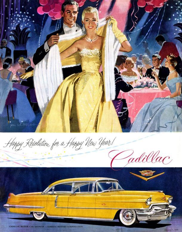 Cadillac Sedan de Ville 1956 by Jon Whitcomb