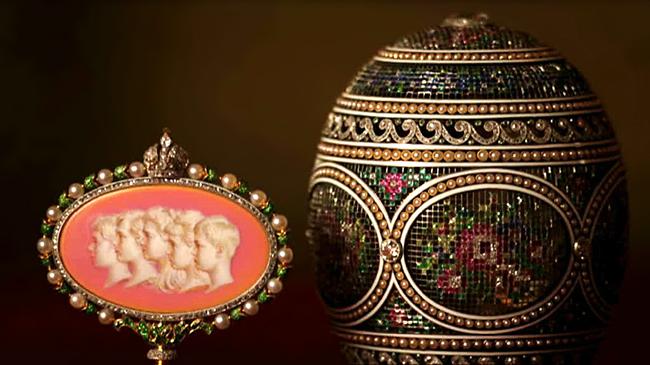 Genius of Carl Faberge - Egg & Surprise