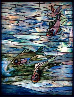 Window by Tiffany Glass Company (c.1890)