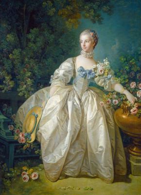 ★ 'Madame Bergeret' by FrancoisBoucher