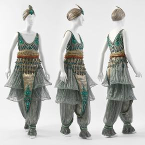 ★ Fancy-Dress Costume by Paul Poiret (1911)