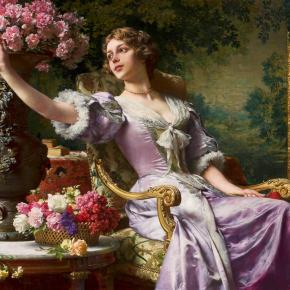 ★ Czachorski's 'Lady in a Lilac Dress' (1880s)