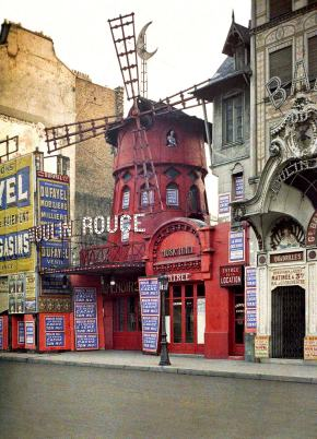 ★ Le Moulin Rouge by Stephane Passet (1914)
