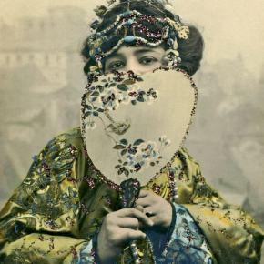★ 'Mlle. Spindler' by Nadar(c.1900)