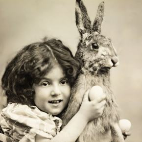 ★ Happy Easter! Vintage Greetings Card (c.1907)