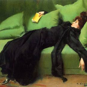★ 'Young Decadent' by Ramon Casas (1899)
