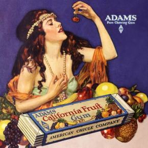 ★ Ad for Adams Fruit Chewing Gum (1919)